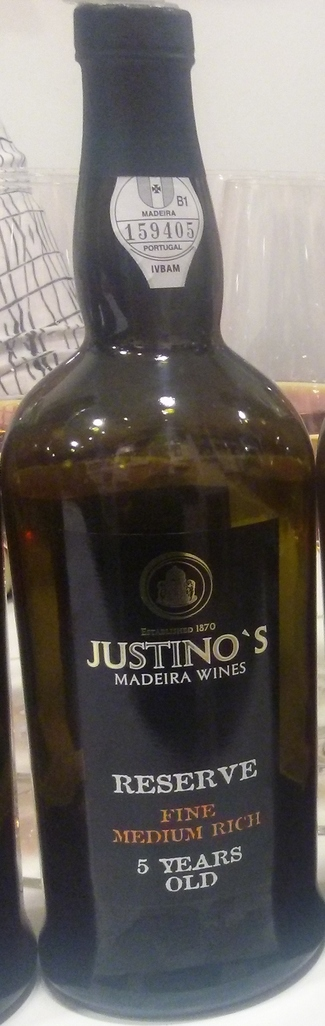Justino's Madeira Reserve Fine Medium Rich 5 Years Old