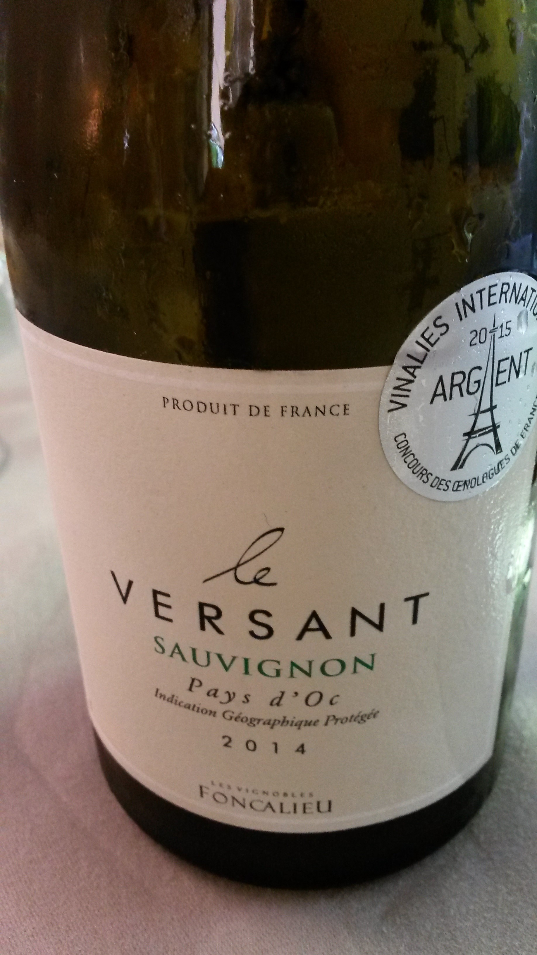 Restaurante El Hostal Le Versant 2014