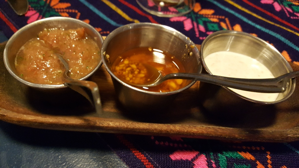 Gastro Taqueria Mexicana en Barcelona Salsas