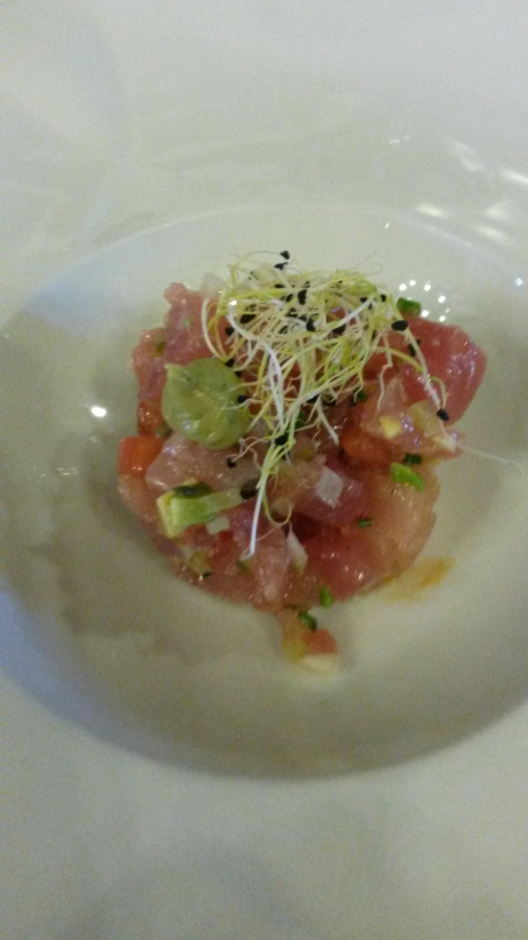 Restaurante en Santander Tartar de atún rojo