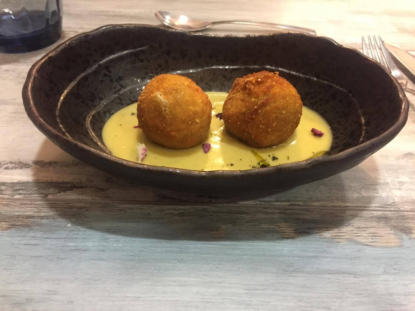 Restaurante en Valencia croquetas