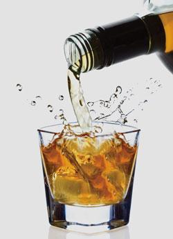 Copa de whisky logo