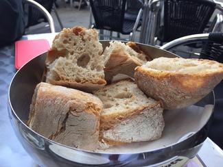 El pan gallego es sensacional.