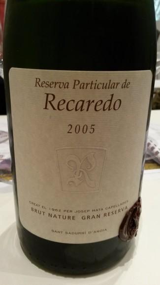Recaredo Reserva Particular 2005