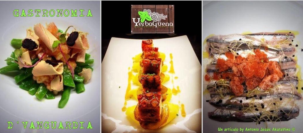 Restaurante Yerbagüena Restaurante Yerbagüena gastronomía de vanguardia