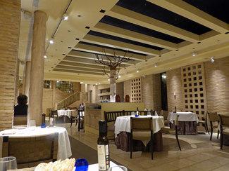 Vista del restaurante desde nuestra mesa