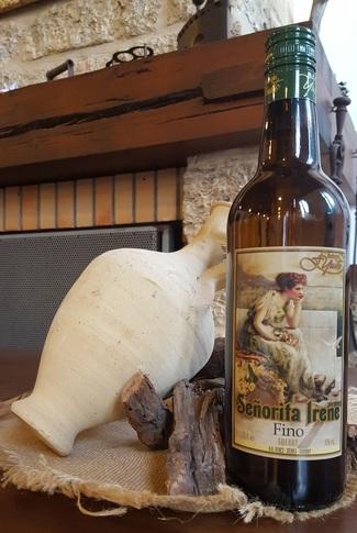 Preciosa etiqueta, un Fino de Jerez de Bodega de Sanlúcar