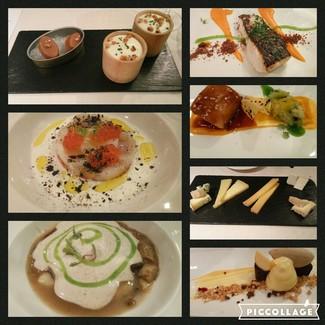 El menú en fotos