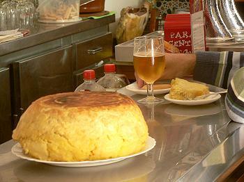 Tortilla de patatas Bar Santos