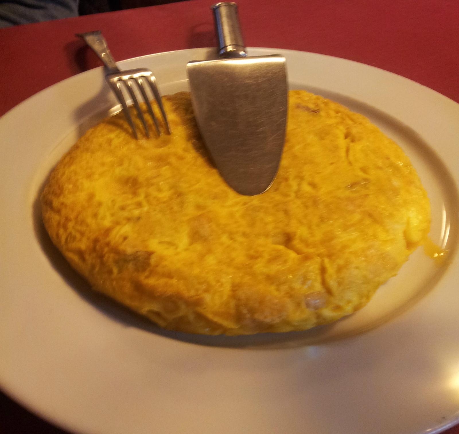 Tortilla Meson O'Pote Betanzos