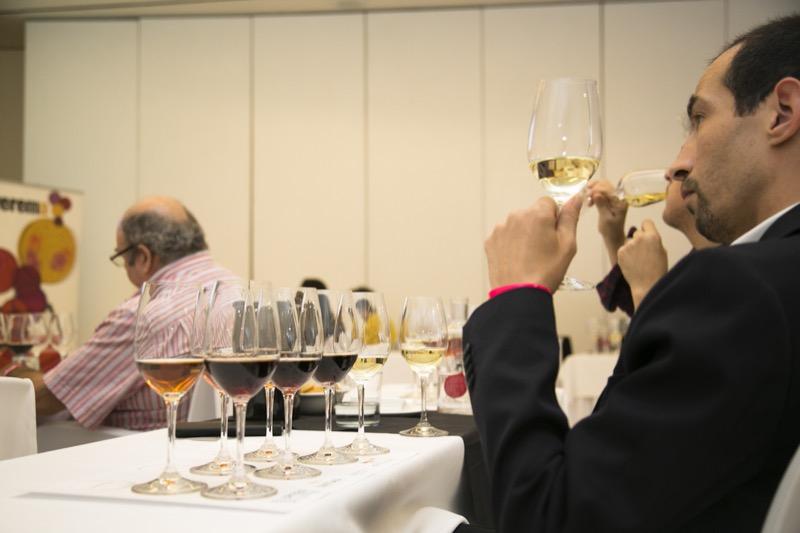 Cata Lustau Salón de Vinos Especiales Verema