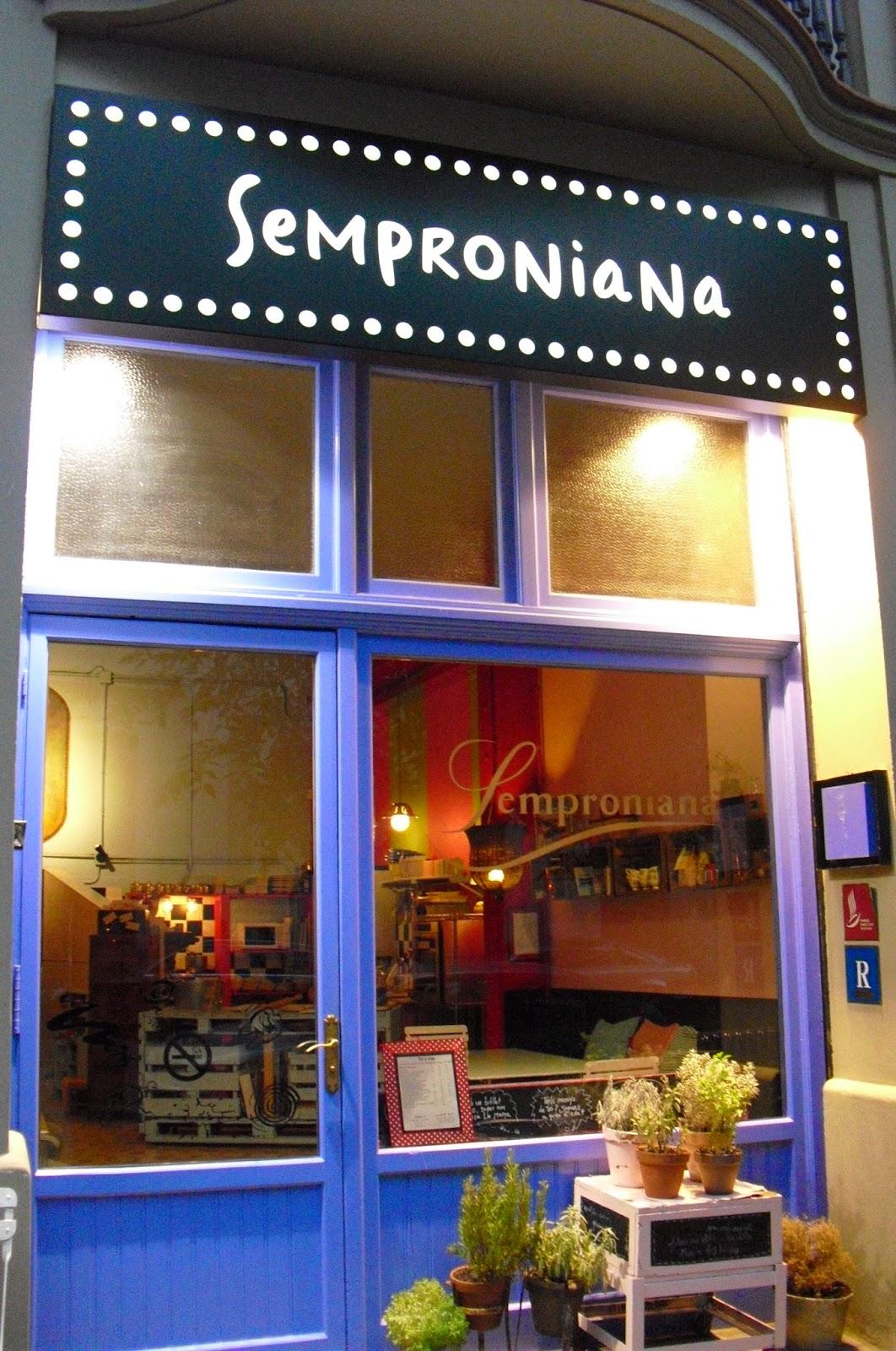 Restaurante Semproniana Barcelona ~ Restaurant Semproniana Barcelona