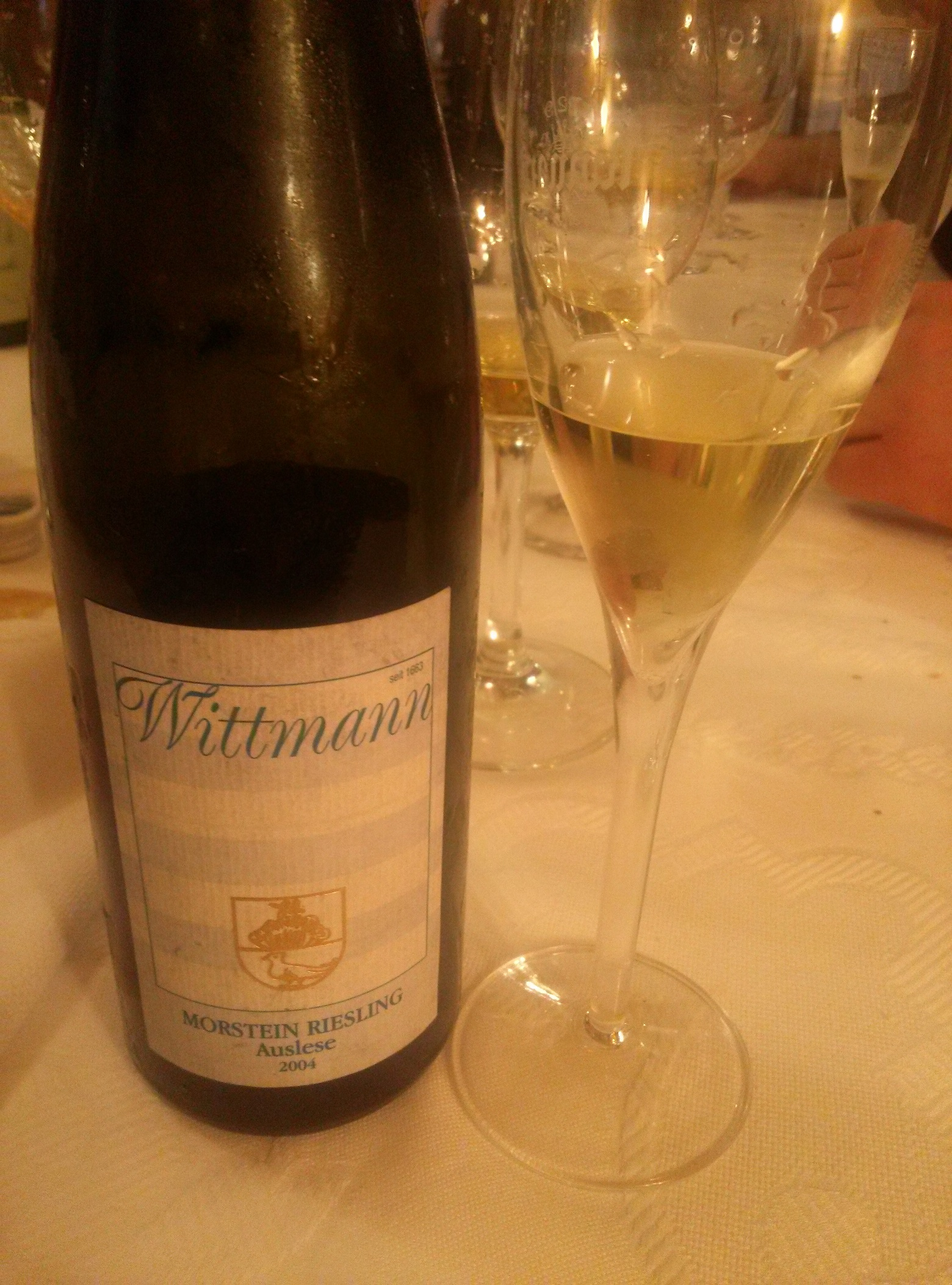 Excelente riesling auslese
