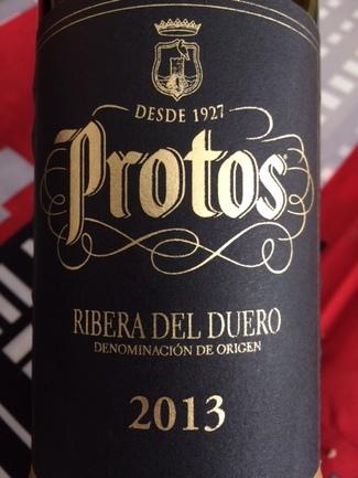 Protos Club tinto crianza 2013