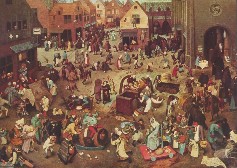 La fiesta pagana: Las Saturnales