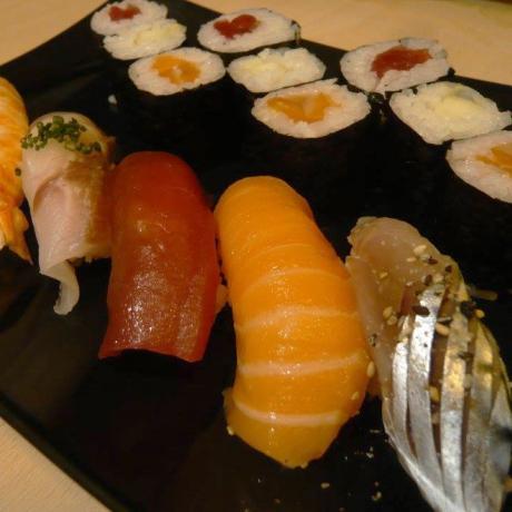 Restaurante Matatabi Sushi moriawase.