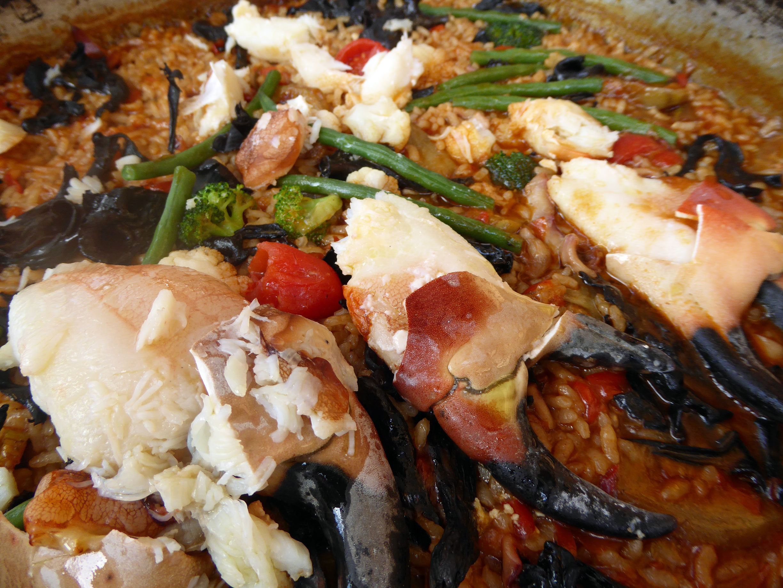 Restaurante La mar Salada Detalle de las pinzas