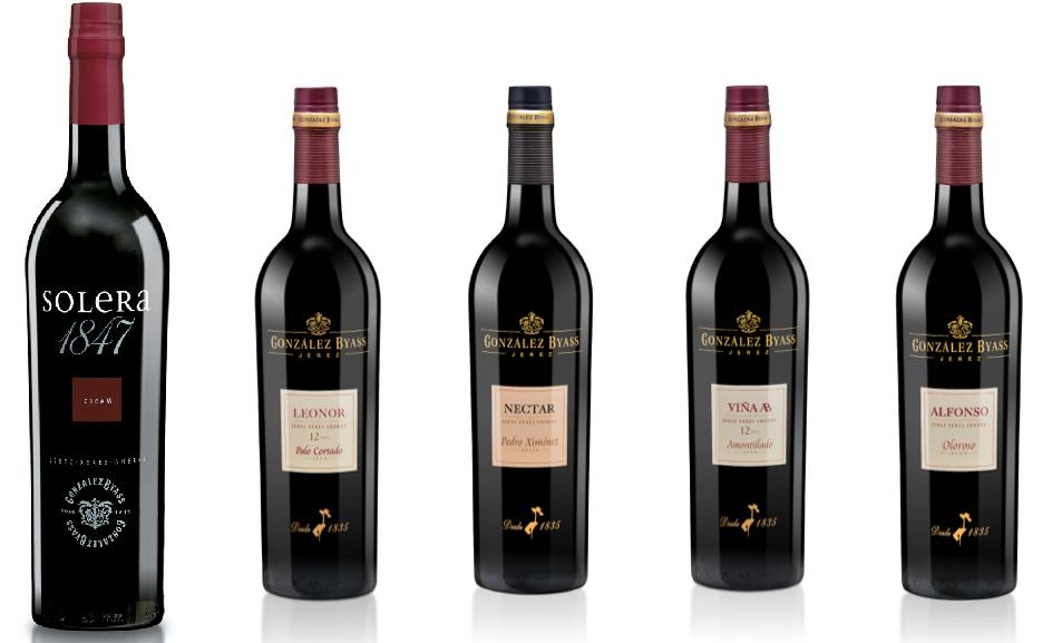 Gama Superior vinos Tio Pepe- Gonzalez Byass