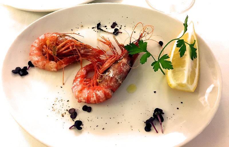 Restaurante Ca Pepico Gamba rallada a la plancha