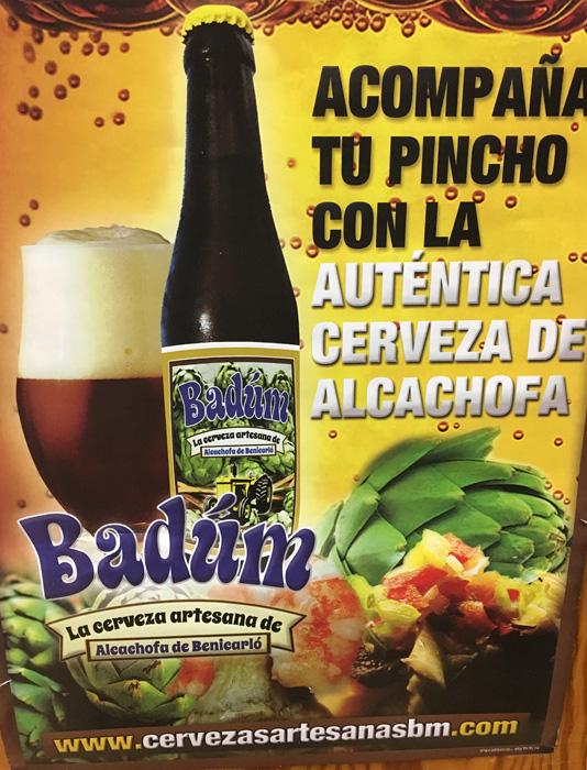 "Bar Rest. ""San Rafael"" Cerveza de Alcachofa"