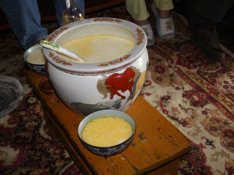 Airag queso de yegua