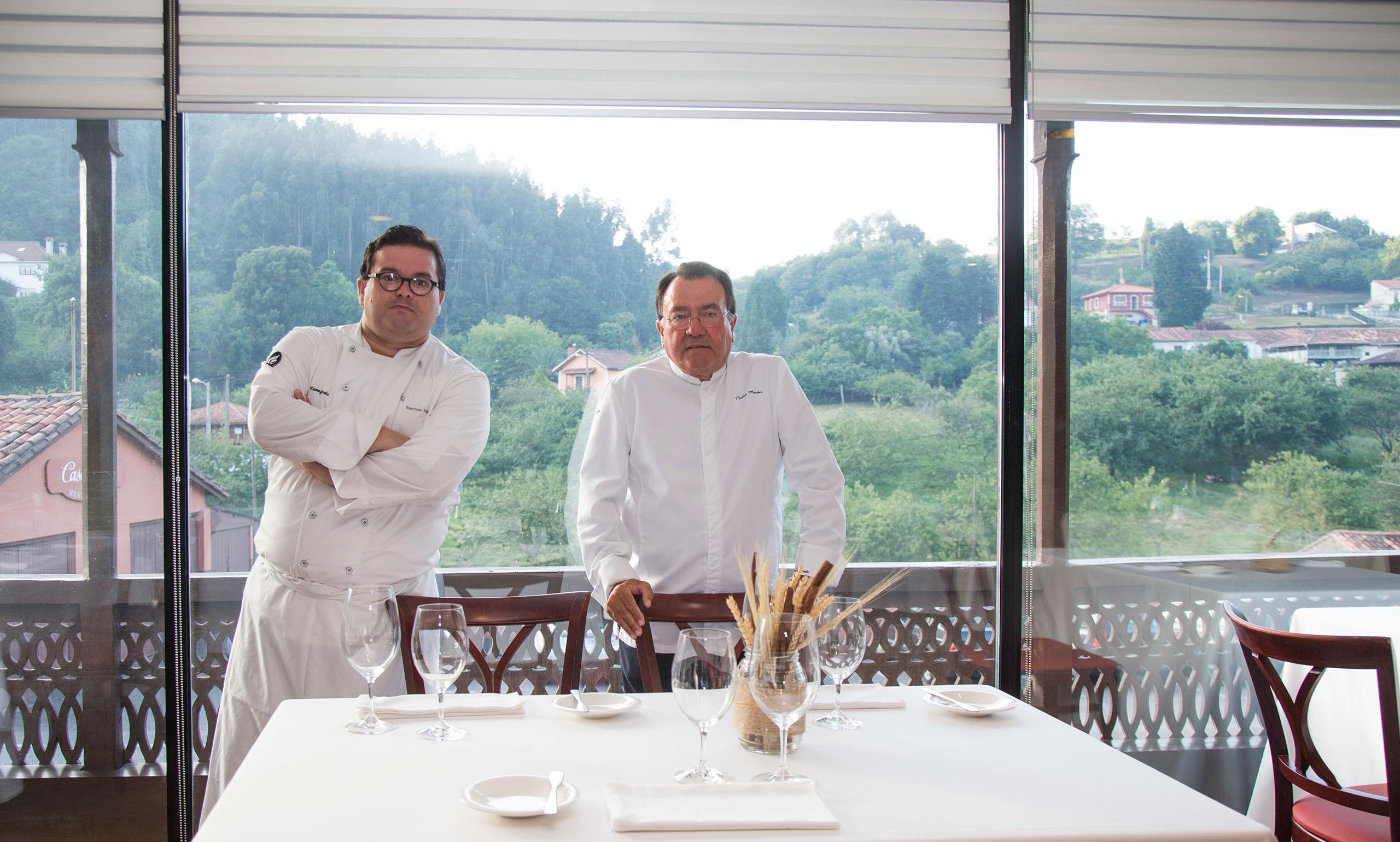 Casa Gerardo. Restaurante español con mejor tratamiento del vino en 2016- Premio Louis Roederer. Premios Verema