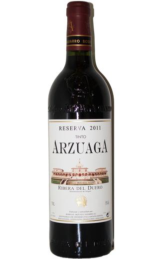 Arzuaga Reserva 2011. Mejor Vino Tinto del Año 2016. Premios Verema