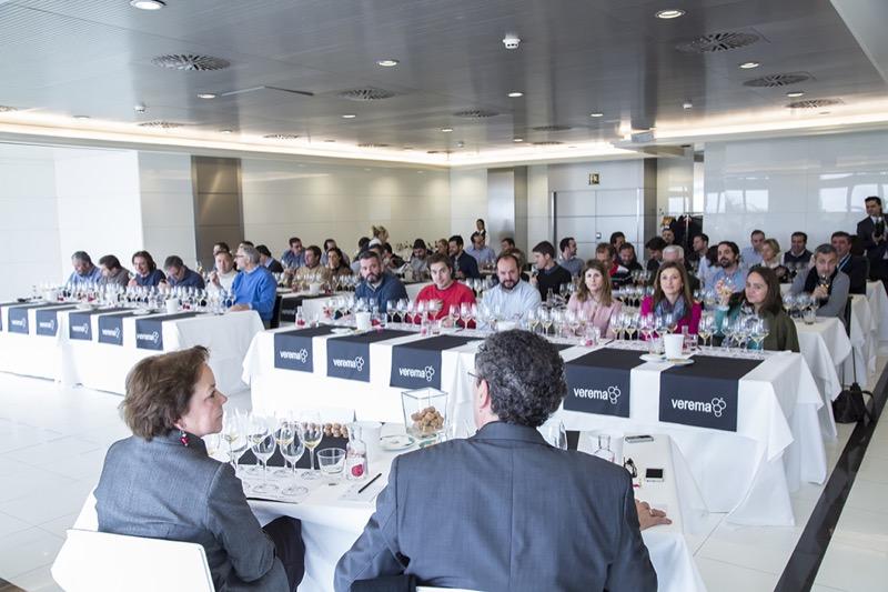 Catas comentadas Experiencia Verema Valencia 2017
