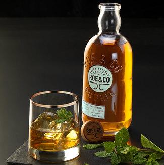 Roe co whisky logo