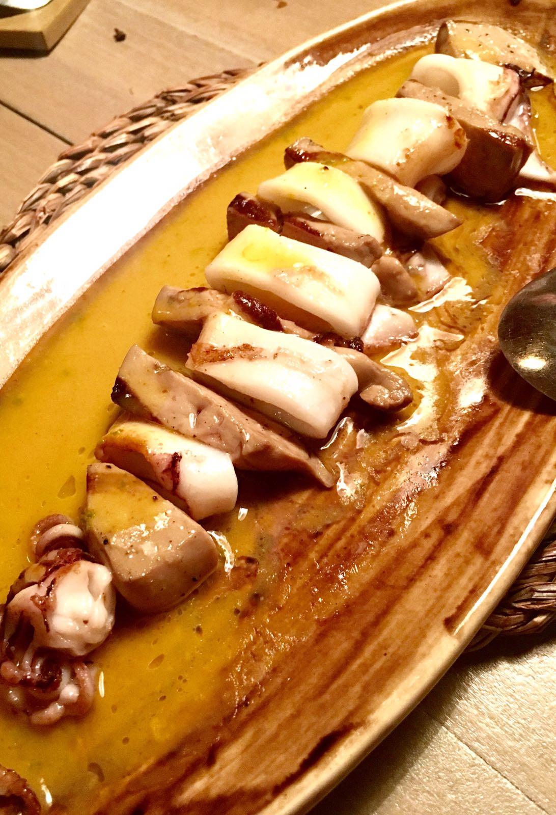 Suculent en Barcelona Calamar y foie