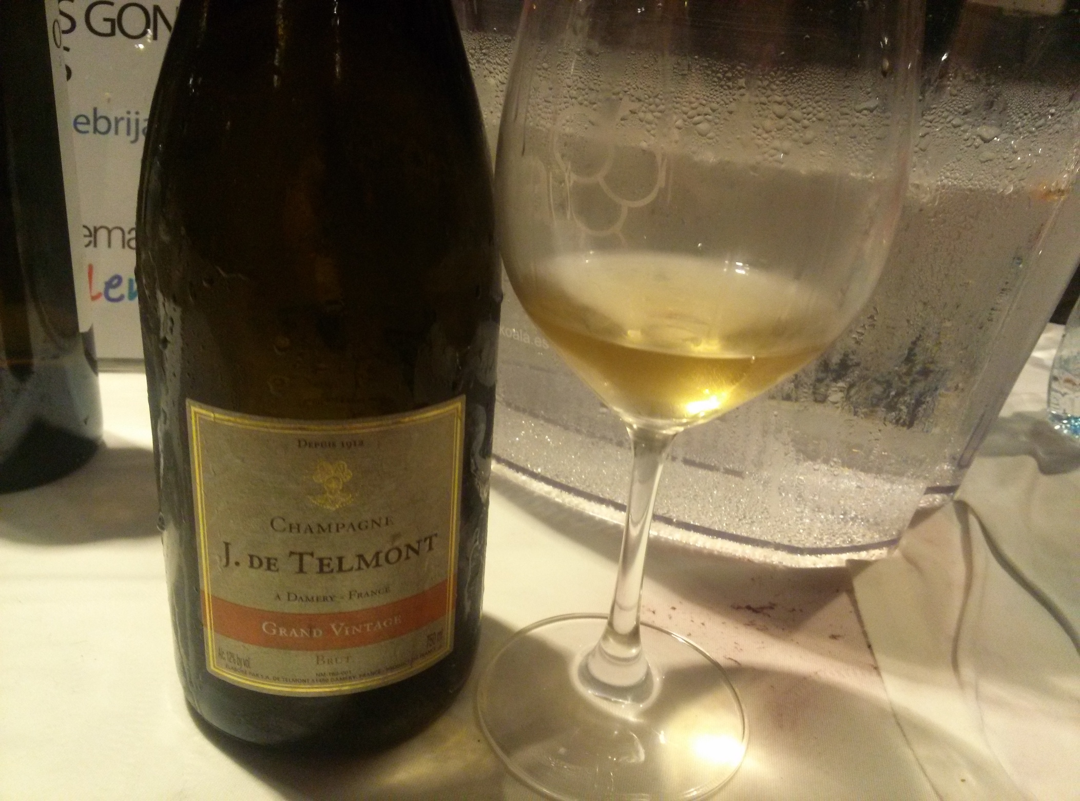 Champagne Telmont Grand Vintage