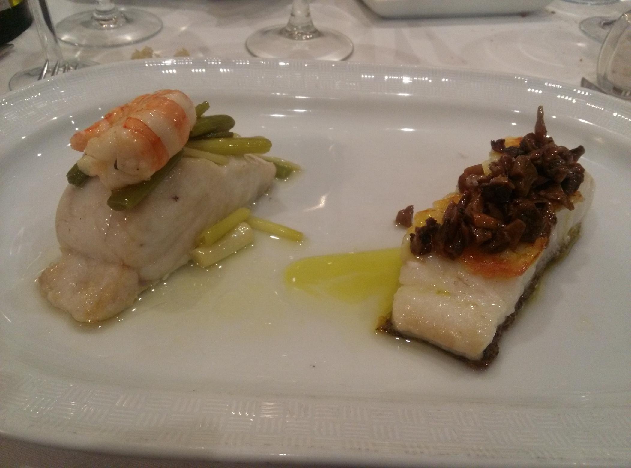 Segundo entrante comida del viernes 24 de febrero en restaurante El Cabanyal