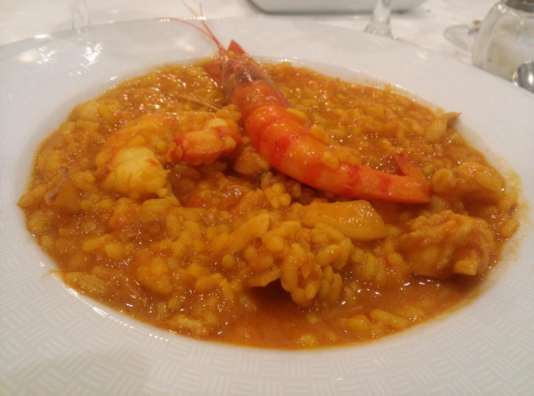 Estupendo arroz el disfrutado en El Cabanyal