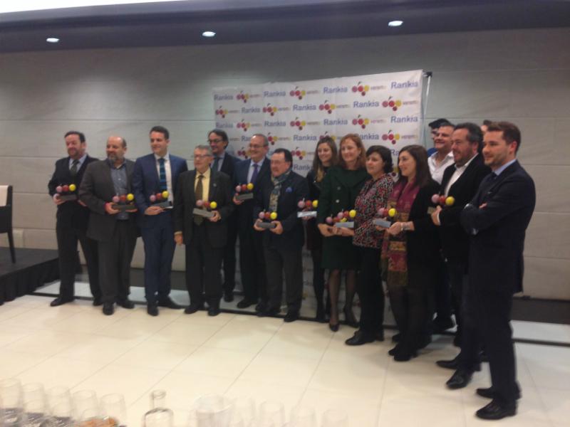 Premiados premios XVI Verema