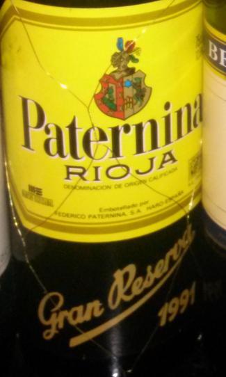 Paternina Gran Reserva 1991