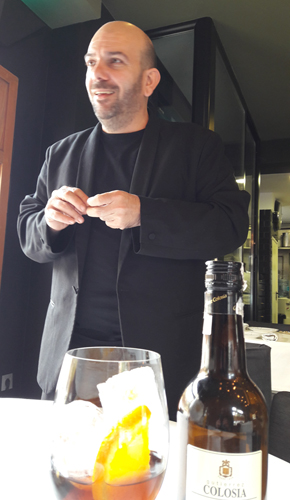 Restaurante La Salita Sergio Rodrigo, gran profesional de sala, creciendo.