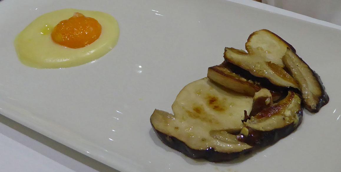 Restaurante Kaia Kaipe Hongos(Bolletus Edulis) con huevo de corral (media ración)