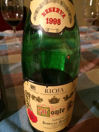 Monte Real Reserva 1998