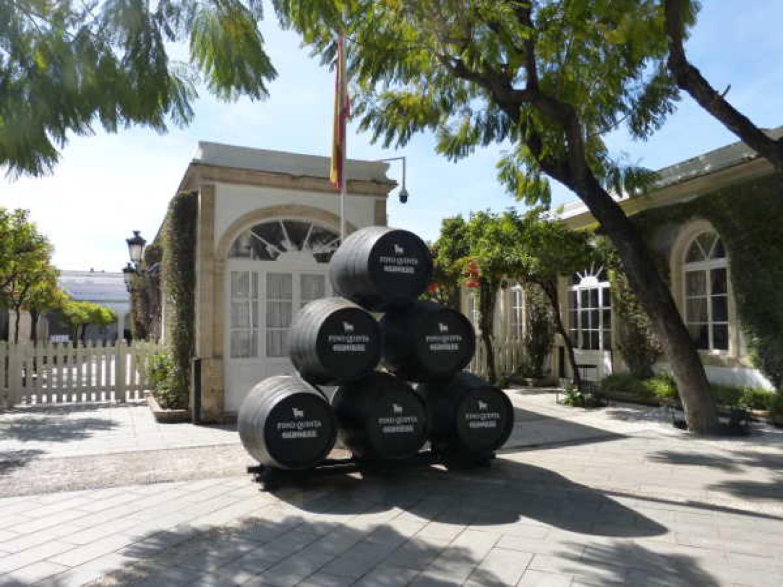 Bodega histórica de Osborne, en El Puerto de Santa María