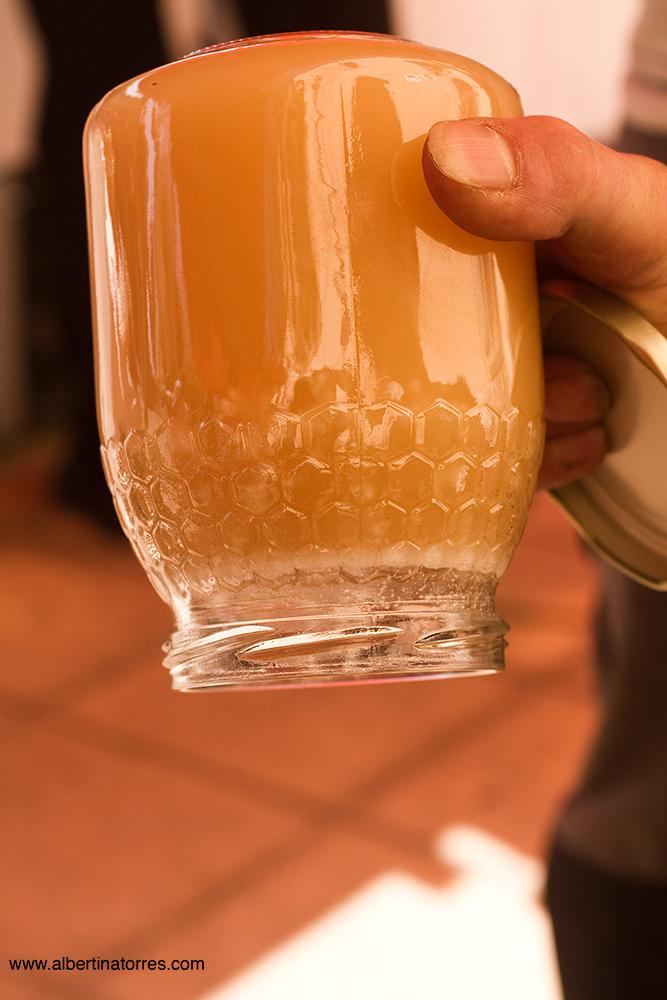 Miel cristalizada