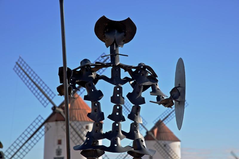 Don Quijote en Mota del Cuervo, Castilla la Mancha