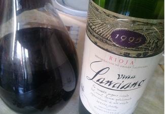 Viña Lanciano Reserva 1995, DO Ca Rioja