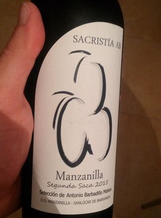 Sacristía AB Manzanilla Segunda Saca (375 ml) 2015
