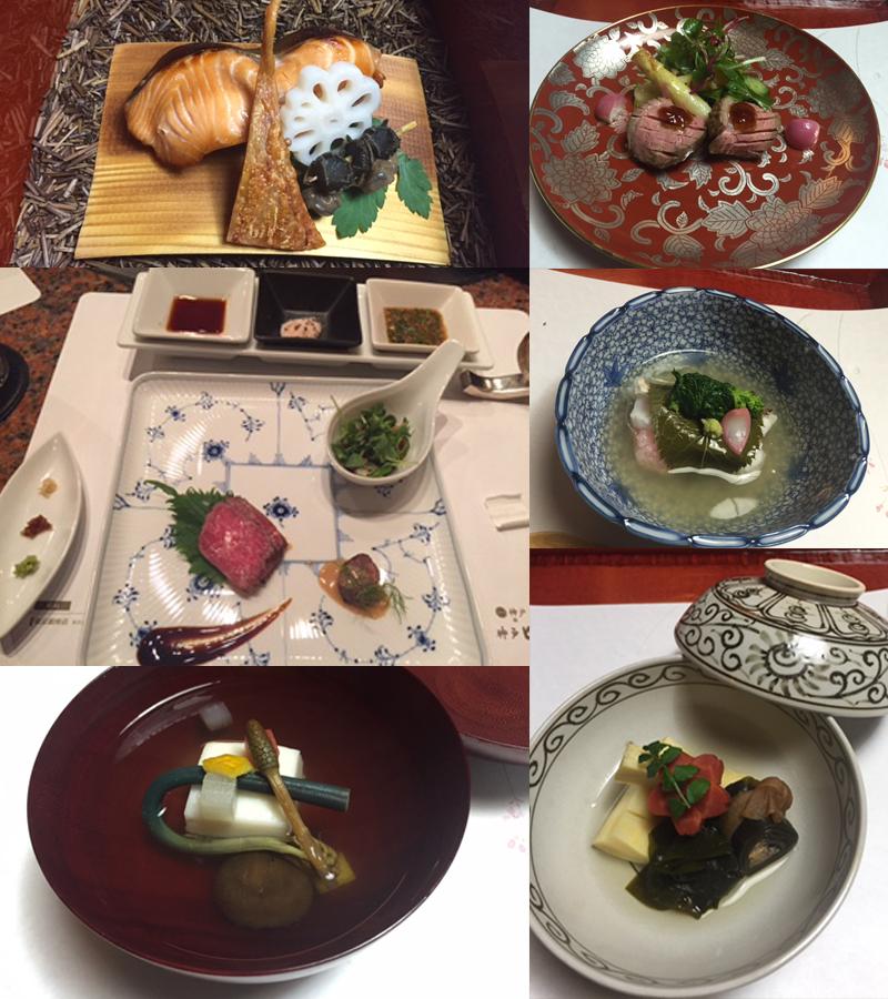 Gastronomía Kaiseki con tintes de vanguardia