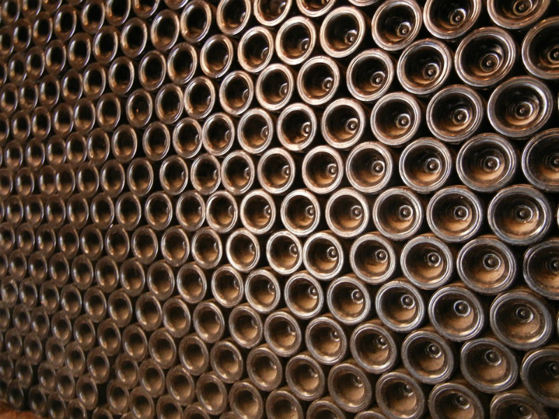 Botellas de cava en rima3