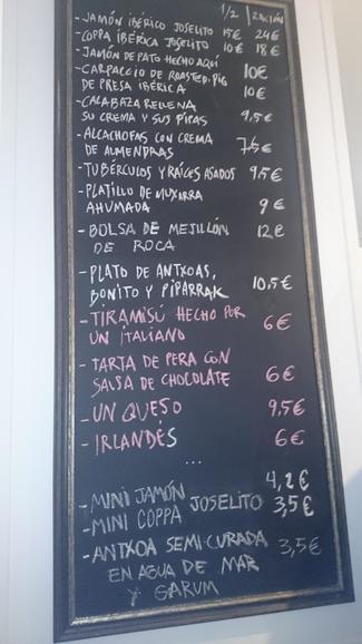 Restaurante Bar Matalauva. en San Sebastián/ Donosti/ Donostia