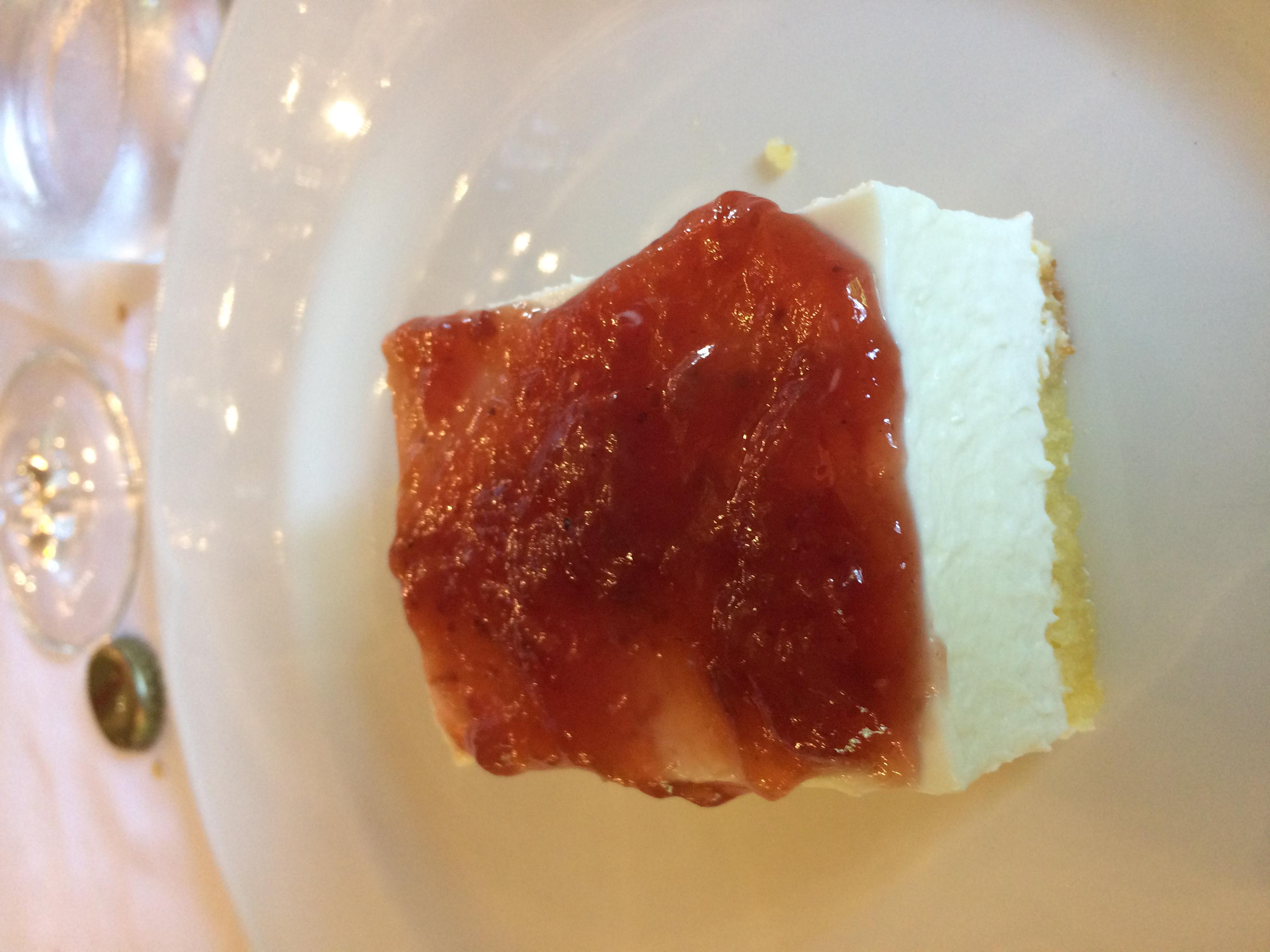 Las Piscinas Tarta de queso