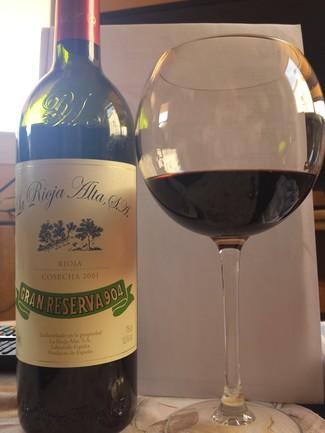 Rioja Alta Gran Reserva 904 2001