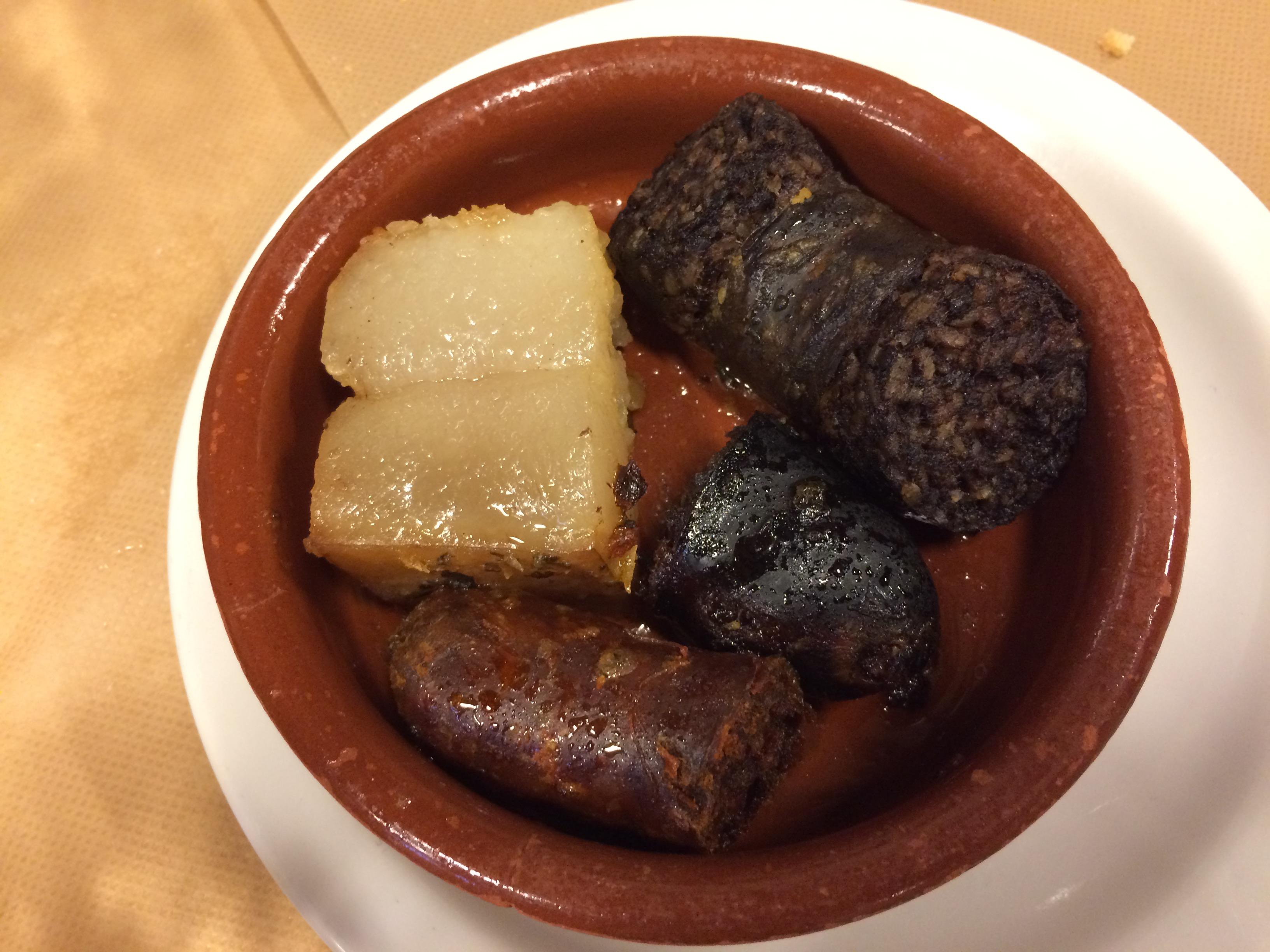 Casa Cofiño en Caviedes El compango del cocido