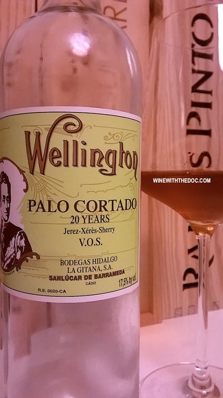 Wellington Palo Cortado 20 Years Jerez VOS